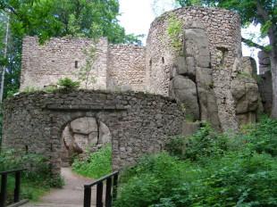 Remnants of castle Bolczow